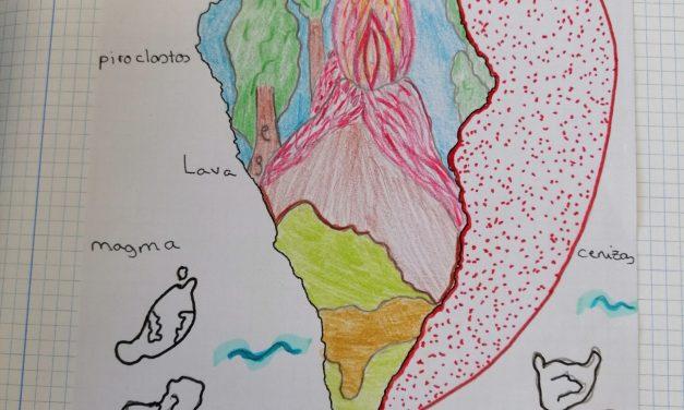 El Volcán de la Palma en las aulas
