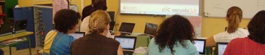 Acceder al blog: Formación clIC escuela 2.0
