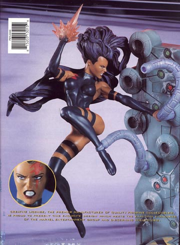 Psylocke In Action Statue
