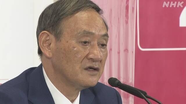 【総裁候補】菅官房長官  経済方針はインバウンド経済が主力  10年後に6000万人の目標掲げる