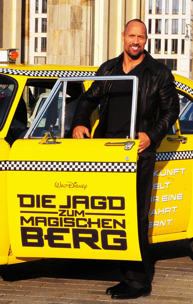 """Actor Dwayne 'The Rock"""" Johnson at the Photocall of the new movie 'Race"""