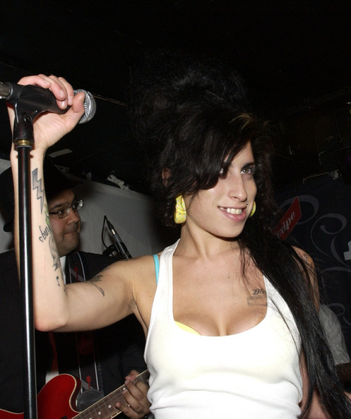 Celebrity Tattoos. In This Photo: Amy Winehouse