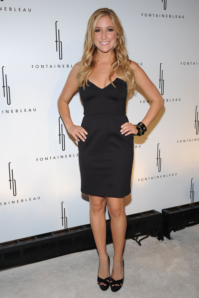 Kristin Cavallari Little Black Dress Kristin Cavallari