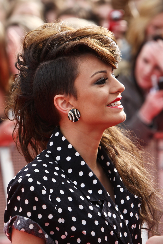Cher Lloyds Mega Fauxhawk Celebrities Who Rock Shaved