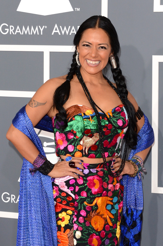 Lila Downs Long Braided Hairstyle Lila Downs Looks