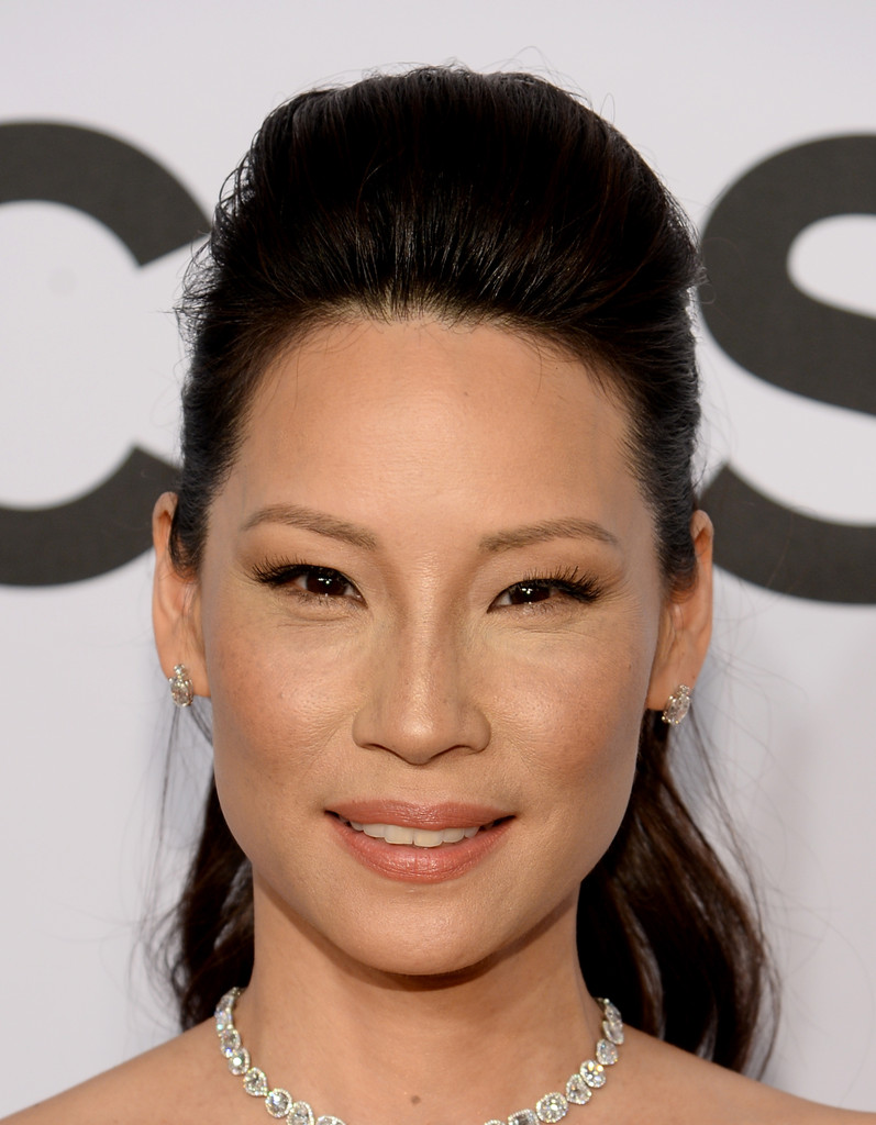 Lucy Liu Ponytail Ponytail Lookbook StyleBistro