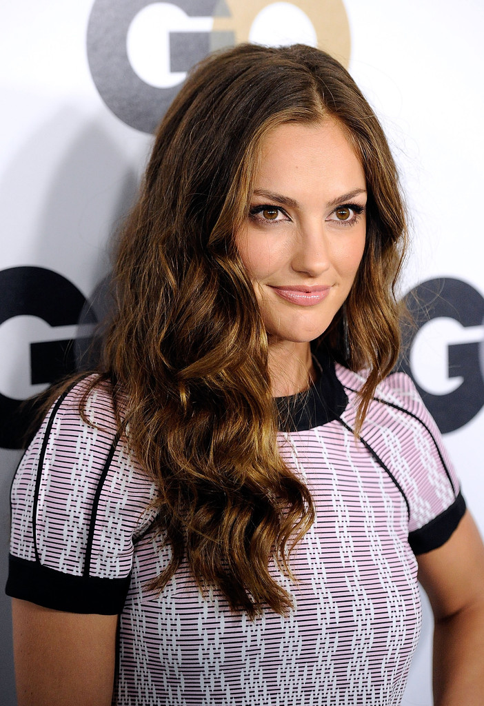 Minka Kelly Long Wavy Cut Minka Kelly Hair Looks