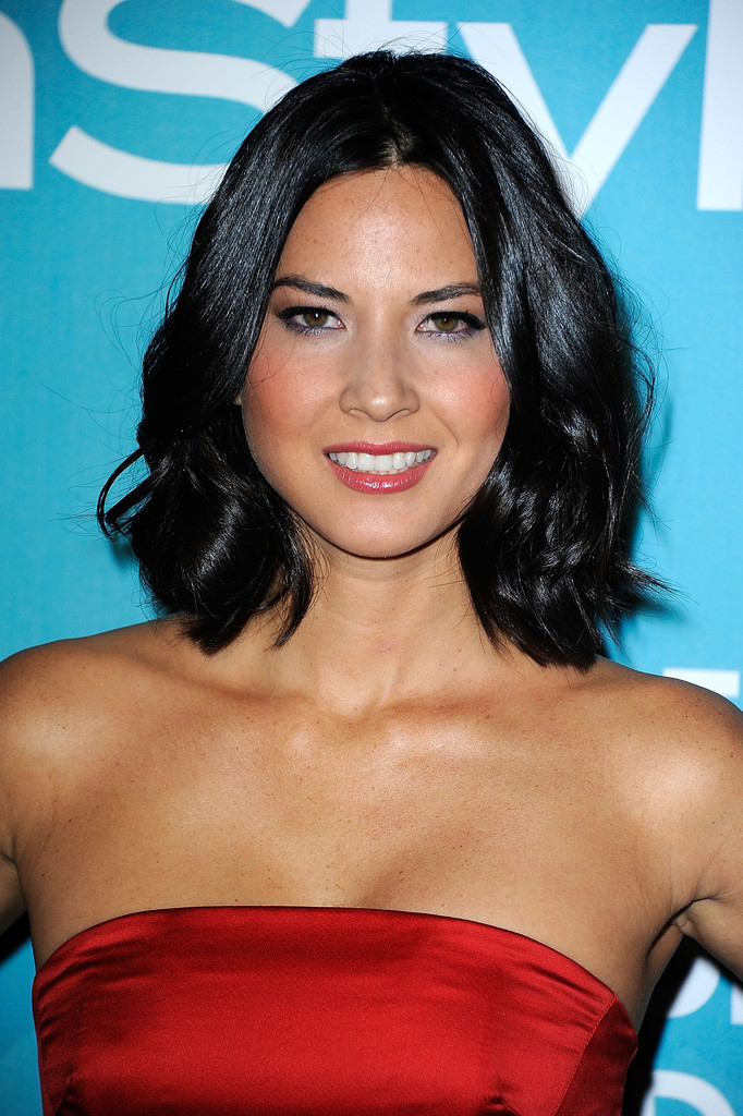Olivia Munn Mid Length Bob Olivia Munn Shoulder Length