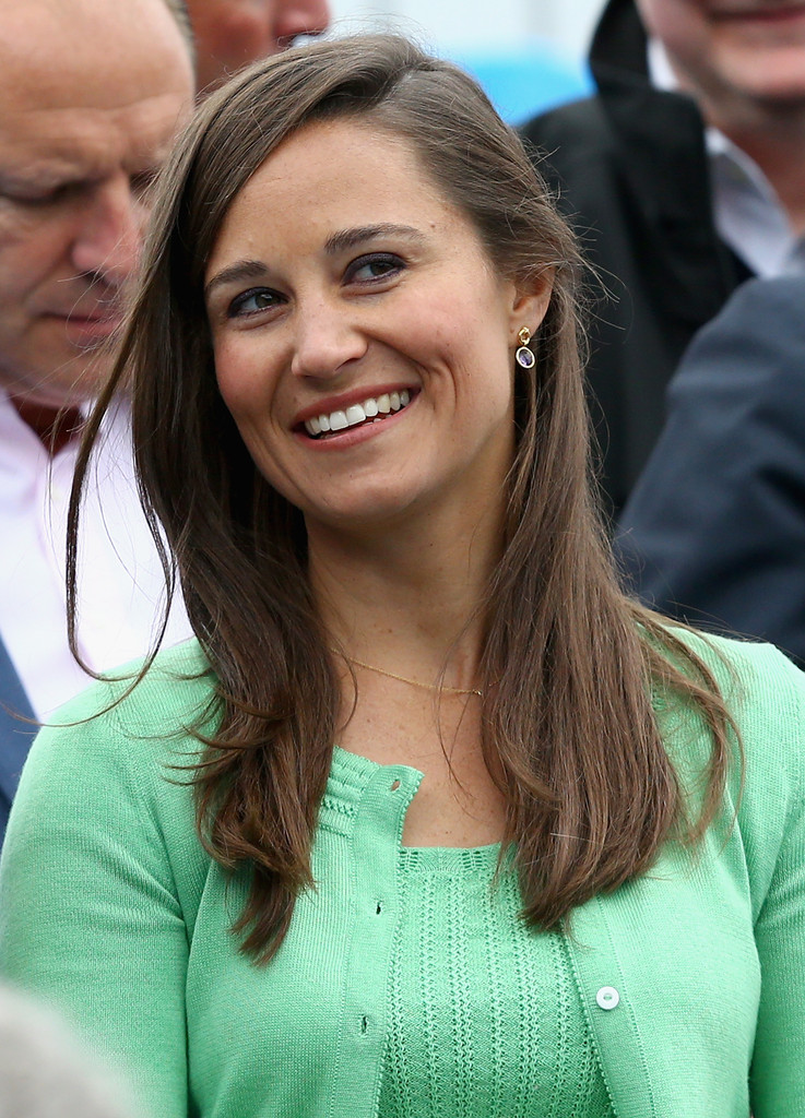Pippa Middleton Long Straight Cut Pippa Middleton Looks