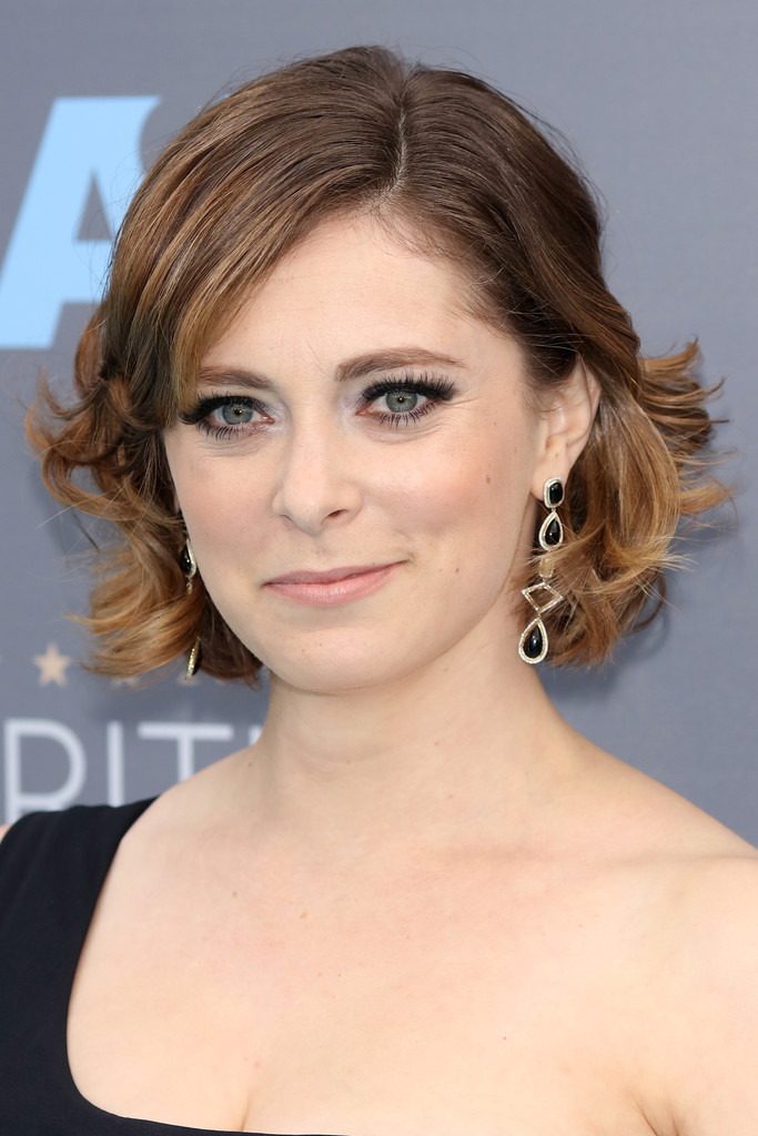 Rachel Bloom Curled Out Bob Short Hairstyles Lookbook