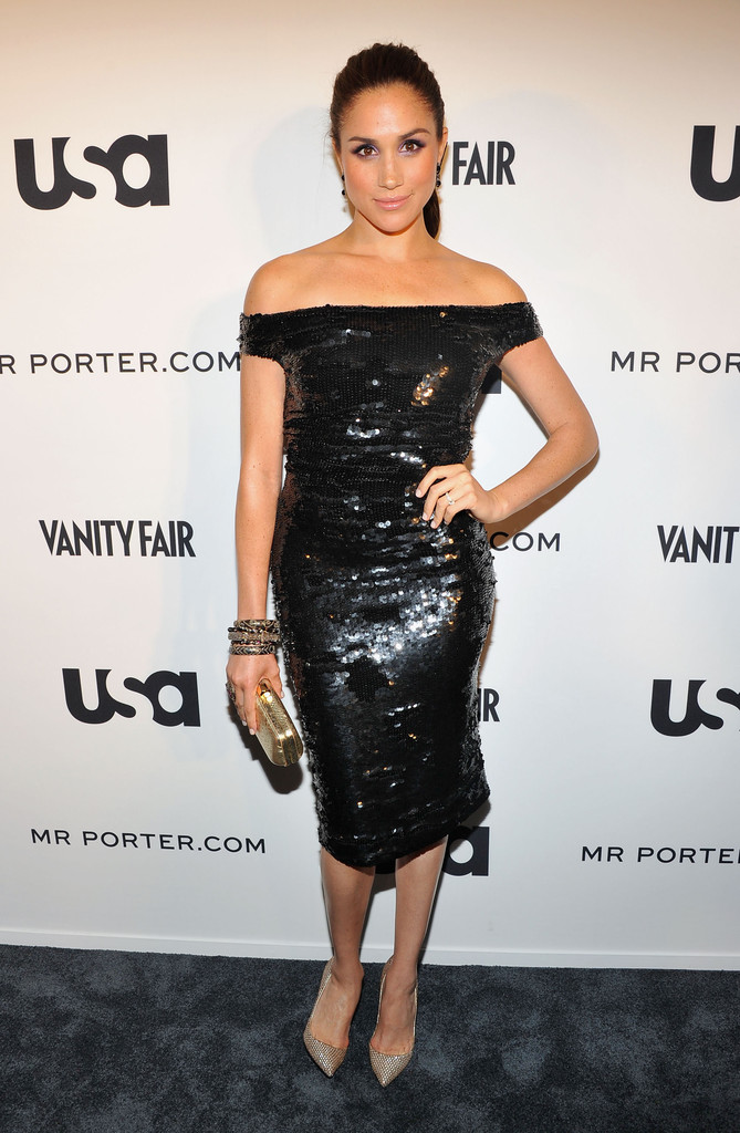 Sequin Party Meghan Markles Most Stylish Moments