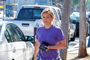 Hilary Duff gets breakfast with Luca.