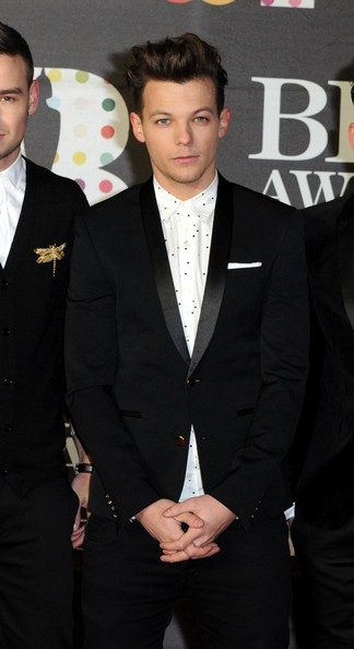 Louis Tomlinson - One Direction at The Brit Awards