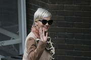 Singer Rita Ora is pictured arriving at the ITV studios for a guest appearance on 'The Graham Norton' show.