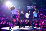 Recording artist Meghan Trainor performs onstage during the 2014 iHeartRadio Music Festival at the MGM Grand Garden Arena on September 20, 2014 in Las Vegas, Nevada.