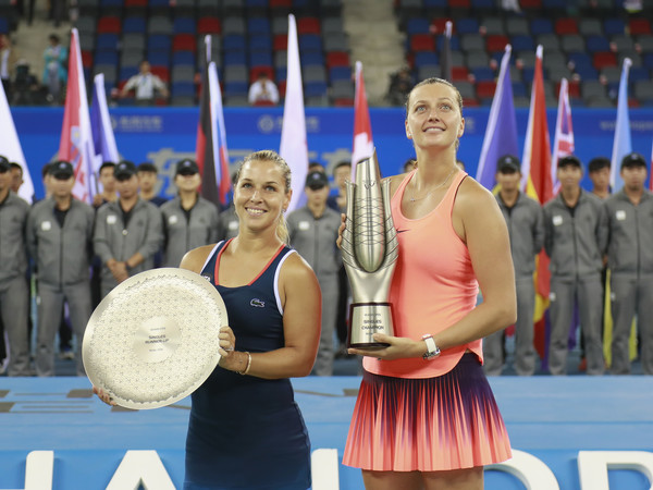 Wuhan with champion Petra Kvitova