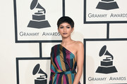Actress/singer Zendaya attends The 57th Annual GRAMMY Awards at the STAPLES Center on February 8, 2015 in Los Angeles, California.