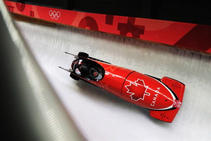 Heather Moyse, Alysia Rissling - Bobsleigh - Winter Olympics Day 11