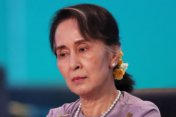 Image result for Aung San Suu Kyi, photos