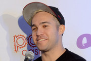 Musician Peter Wentz interviews backstage at the Q102's Jingle Ball 2014 at Wells Fargo Center on December 10, 2014 in Philadelphia, Pennsylvania.