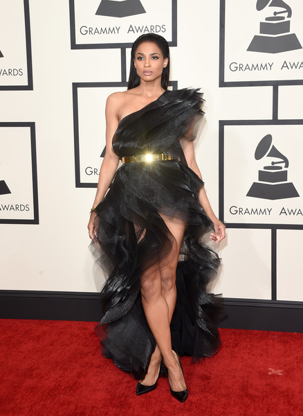 Ciara - 57th GRAMMY Awards - Arrivals