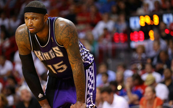 DeMarcus Cousins - Sacramento Kings v Miami Heat
