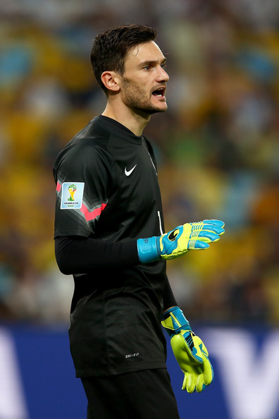 Hugo Lloris of France reacts during the 2014 FIFA World Cup Brazil Group E match between Ecuador and France at Maracana on June 25, 2014 in Rio de Janeiro, Brazil.