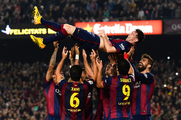 Messi becomes all-time top scorer of La Liga – My Heart ...