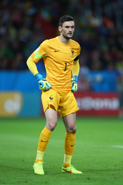 Hugo Lloris of France looks on during the 2014 FIFA World Cup Brazil Group E match between France and Honduras at Estadio Beira-Rio on June 15, 2014 in Porto Alegre, Brazil.