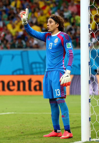 Guillermo Ochoa - Croatia v Mexico: Group A - 2014 FIFA World Cup Brazil