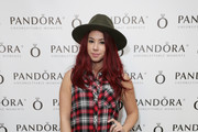 Actress Jillian Rose Reed attends the HBO Luxury Lounge featuring PANDORA Jewelry at Four Seasons Hotel Los Angeles at Beverly Hills on January 10, 2015 in Beverly Hills, California.