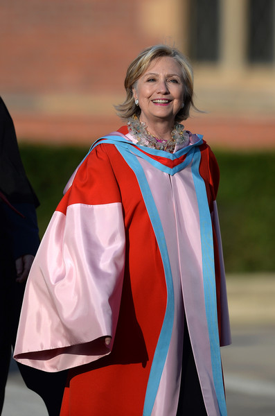 Hillary Clinton Speaks On Her Part In the Northern Ireland Peace Process At Honourary Degree Ceremony