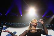 Iggy Azalea performs onstage during KISS 108's Jingle Ball 2014, presented by Market Basket Supermarkets at TD Garden on December 14, 2014 in Boston, Massachusetts.