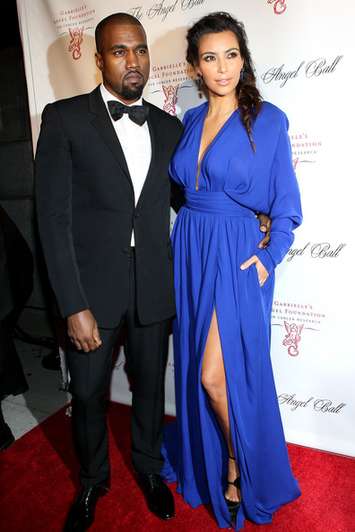 Kanye West Kanye West and Kim Kardashian attend the Angel Ball 2012 at Cirpiani Wall Street on October 22, 2012 in New York City.