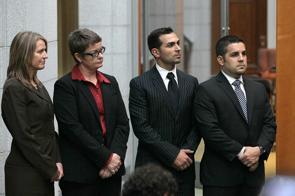 Plaintiffs Sandy Stier, Kris Perry, Paul Katami and Jeffrey Zarrillo as pictured on zimbio.com