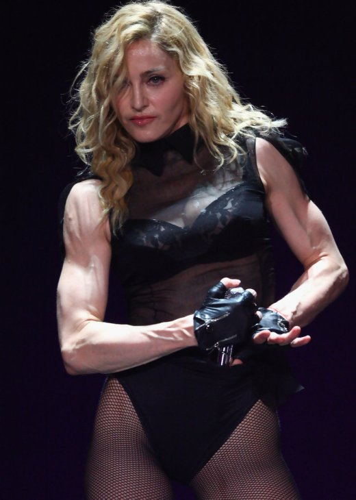 Image result for madonna muscles