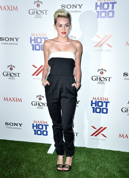 Celebs at the Maxim Hot 100 Party