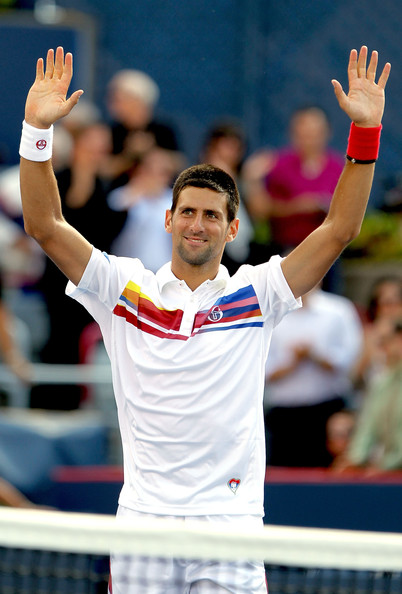 Novak Djokovic - Rogers Cup - Day 4