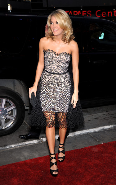 People's Choice Awards 2010 - Red Carpet. In This Photo: Carrie Underwood