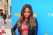 Singer Christina Milian attends the premiere of TWC-Dimension's 'Paddington' held at the TCL Chinese Theatre IMAX on January 10, 2015 in Hollywood, California.