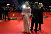 (R-L) Lena Herzog, director Werner Herzog and actress Nicole Kidman attend the 'Queen of the Desert' premiere during the 65th Berlinale International Film Festival at Berlinale Palace on February 6, 2015 in Berlin, Germany.