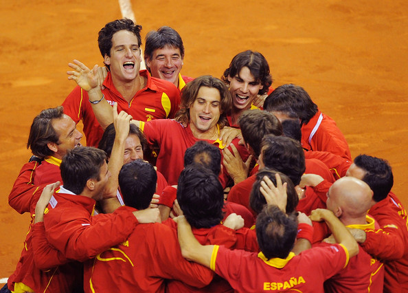 Rafael Nadal - Spain v Czech Republic - Davis Cup World Group Final - Day Two