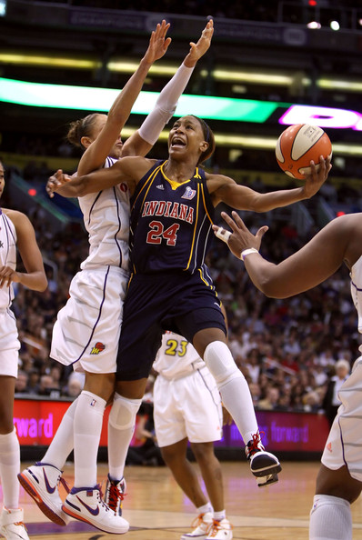 Tamika Catchings - WNBA Finals Game 2:  Indiana Fever v Phoenix Mercury