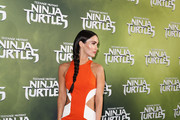 "Megan Fox arrives at the Sydney Premiere of ""Teenage Mutant Ninja Turtles"" at The Entertainment Quarter on September 7, 2014 in Sydney, Australia."