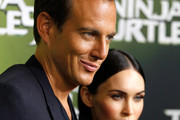 "Will Arnett and Megan Fox arrives at the Sydney Special Event Screening of ""Teenage Mutant Ninja Turtles"" at The Entertainment Quarter on September 7, 2014 in Sydney, Australia."