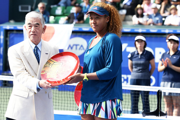 Naomi Osaka, runner-up 2016 Toray Pan Pacific Open runner-up