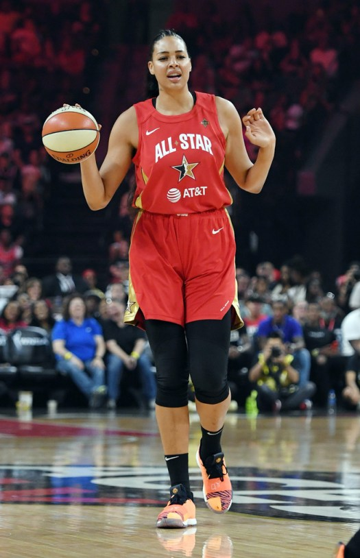 Liz Cambage - Liz Cambage Photos - WNBA All-Star Game 2019 ...