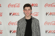 Shawn Mendes attends Z100 & Coca-Cola All Access Lounge at Z100's Jingle Ball 2014 pre-show at Hammerstein Ballroom on December 12, 2014 in New York City.