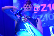 Kiesza performs at Z100 & Coca-Cola All Access Lounge at Z100's Jingle Ball 2014 pre-show at Hammerstein Ballroom on December 12, 2014 in New York City.
