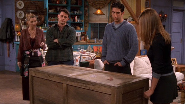 4. 'The One With Chandler in a Box' (Season 4) - A Definitive Ranking of  Every 'Friends' Thanksgiving Episode - Zimbio